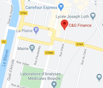 Trouvez nous sur google map